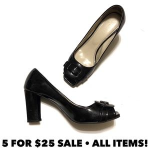 Nickels Patent Leather Pumps